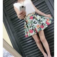 váy đầm hoa sát nách nữ tính Mã: AV789 - TRẮNG