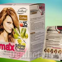Combo 10 gói dầu gội nhuộm tóc SOLBOL