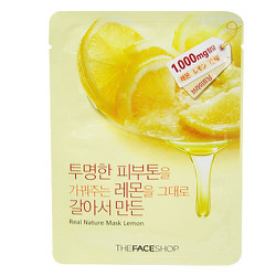 Mặt nạ Real Nature Mask Lemon The Face Shop