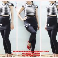 Quần váy legging QD012