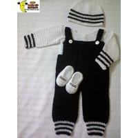 Combo Quần, áo nón và giầy cho bé trai - BT0008