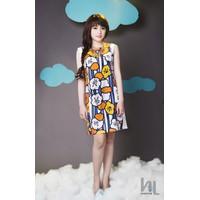 Đầm suông họa tiết DSHL005