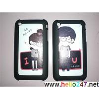 Ốp iphone 3 nhựa cá tính OPBB71