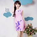 Đầm suông họa tiết DSHL027