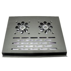 Đế Tản Nhiệt Nhôm Laptop 2 Fan LX-003F MỎNG