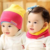 Mũ len bé trai, bé gái tiện dụng, phối màu ấn tượng, thời trang ấm áp
