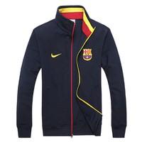 Áo Khoác Nike FCB - KB01 đen