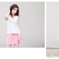Quần váy hồng