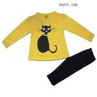 Đồ bộ thu đông mèo yểu điệu cho bé xinh BX073 9kg - 22kg