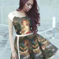 Đầm Váy Công Sở Hàn Quốc D428