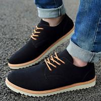 Giày bốt da lộn Glado - 08