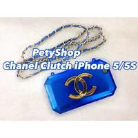 Ốp lưng Chanel Clutch ánh iPhone 5 iPhone 5S
