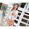 Áo vest lửng tay lỡ phối nẹp Kim loại - SMD1003