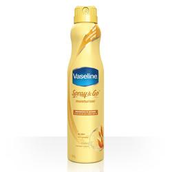 Xịt dưỡng ẩm toàn thân Vaseline Spray and Go, 184g