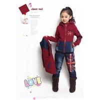 Bộ 3 cái áo và quần thu đông cho bé từ 6-16 tuổi V016