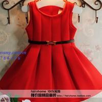 BG597 - Đầm thun dày kèm thắt lưng