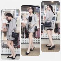 [Fivestyle Shop] Áo khoác cardigan form dài Helen cột dây !!