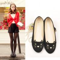 Giày Búp Bê Mặt Mèo Kute YG037- YiYi House