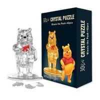 Crystal Puzzle - xếp hình gấu Pooh 3D