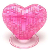 Crystal Puzzle - xếp hình trái tim 3D