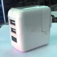 CÓC SẠC IPAD 2 CỔNG USB 5V-3.1A CÓ LED