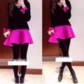 áo váy nữ lông tay dài - Mã: AV804