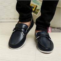 Giày lười da nam style Hàn Quốc 2014 - G12