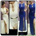 Hàng mới về :Váy Đầm dạ tiệc, đầm dự event, chân váy xẻ cao DMX56