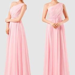 Đầm dạ hội lệch vai kiểu Hy-lap