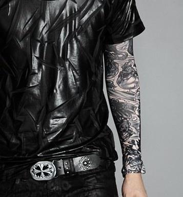 Hình ảnh Găng Tay Hình Xăm Tattoo GT50 7