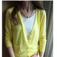 [Fivestyle Shop] Áo khoác cardigan len nút bọc Zara hàng xuất chuẩn