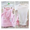 Set đầm và quần hồng beo cho bé gái