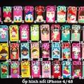 Ốp hình nổi iPhone 4 iPhone 4S