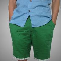 Quần kaki nam lửng màu xanh bẻ lai sọc QKL62