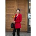 Áo khoác Red Blazer cao cấp-msp 483