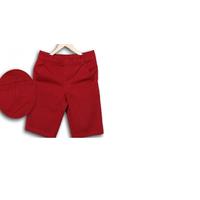 Quần kaki nam short màu đỏ đô QLK92