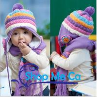 Bộ khăn mũ cho bé trai và gái