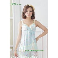 L115 Bộ quần áo hình trái tim teen dễ thương