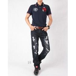 Quần jeans nam rách cá tính PG691