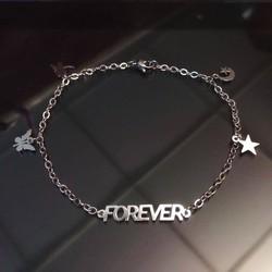 [Greenlife Shop] LX157 - Lắc chân inox Forever
