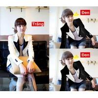 Áo khoác vest blazer Hàn Quốc mặc đi làm cực xinh cAKNU130