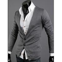 NK 0606 - Áo khoác cardigan kiểu vest cách điệu - CA37