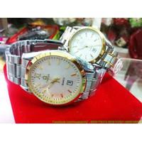 Đồng hồ tình nhân inox Ome chắp cánh yêu thương DHTN91
