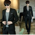 Áo vest nam 2 lớp kaki mềm Hàn Quốc màu đen VN02 - Hàng cao cấp