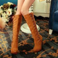 Giày boot cao gót duyên dáng B0040