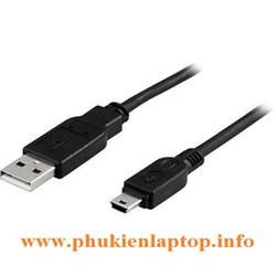 Cáp MINI USB 1,5M HÀNG TỐT CÓ CỤC CHỐNG NHIỄU