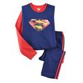 Bộ ngủ Superman 3D size đại đơn giản, thể thao cho bé trai đến 43kg