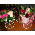 Xe hoa gấu bông
