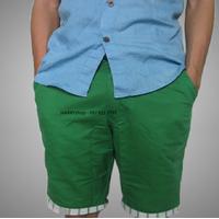 Quần kaki nam lửng màu xanh lá QKL62