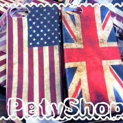 Ốp lưng Dẻo lá cờ iPhone 5 iPhone 5S